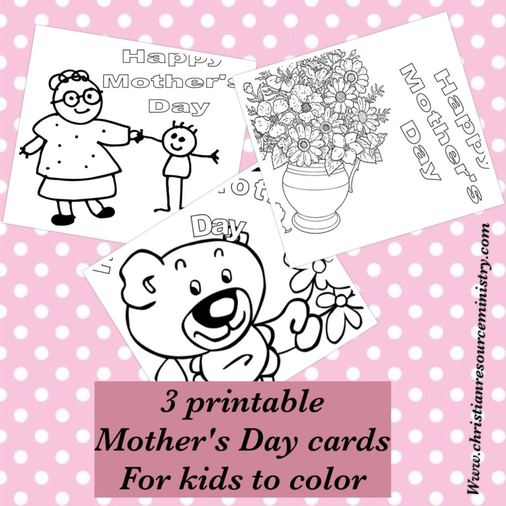 It is an image of Magic Mothers Day Card Print Out
